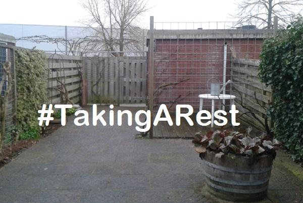#TakingARest